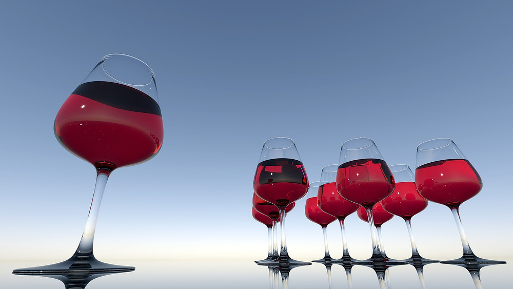 vinho e saude bucal