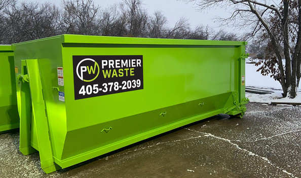 We know most people don't enjoy looking at waste collection containers so unlike most companies in the Oklahoma market ours are new and kept aesthetically appealing.