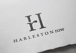 Harleston Row offset print