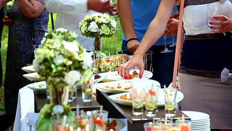buffet apéritif cocktail dinatoire
