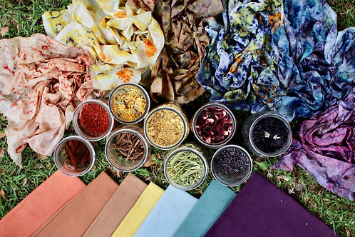 Natural Bundle Dyeing Workshop
