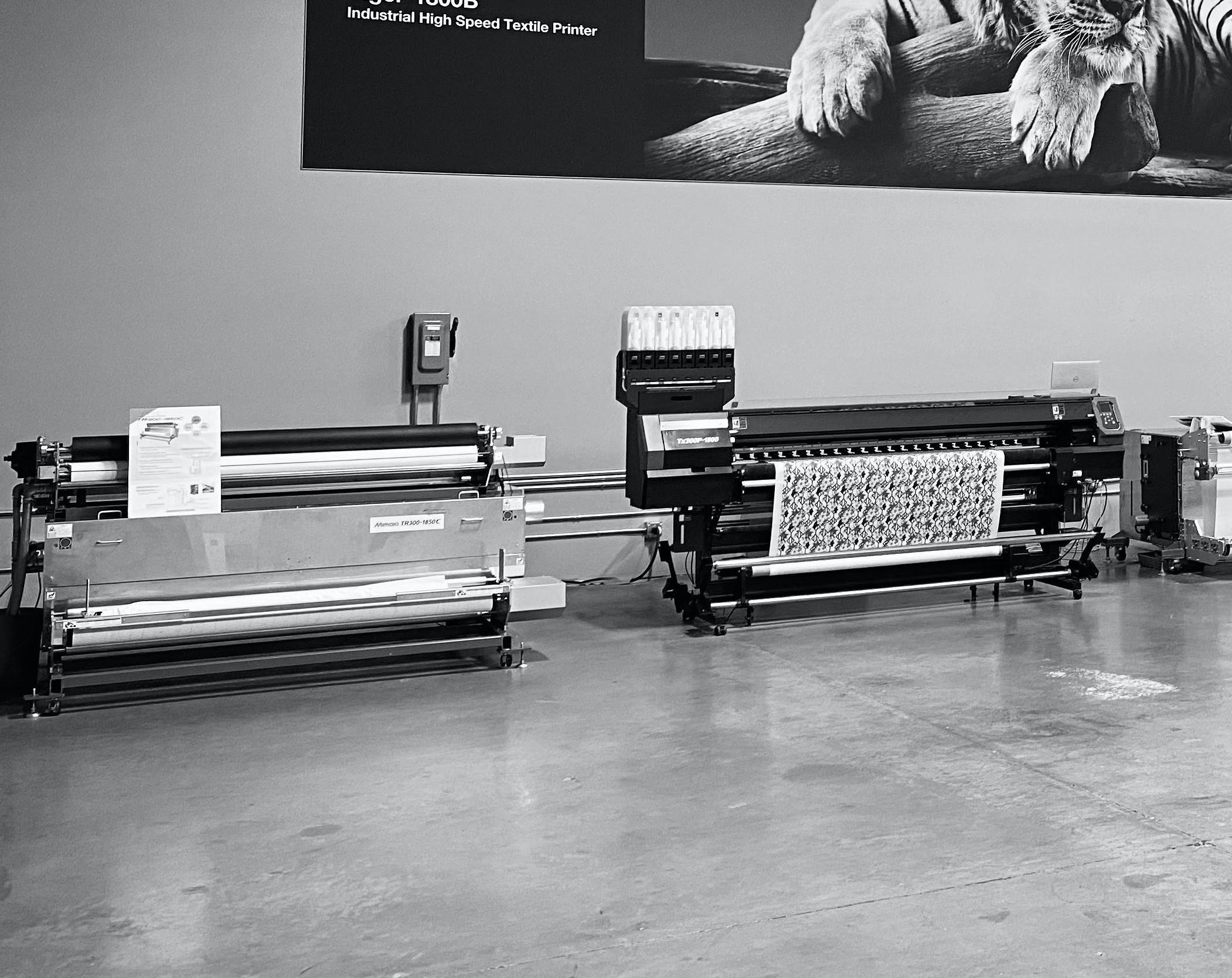 Mimaki Digital Textile Printing Workshop