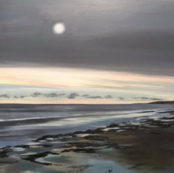 White moon - North Uist