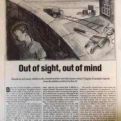 New Statesman Illustration - Children th