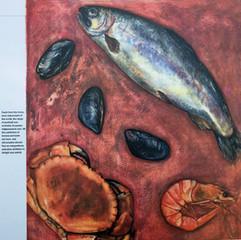 Illustration for Fish restaurants - The