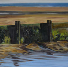 Exmouth beach groynes
