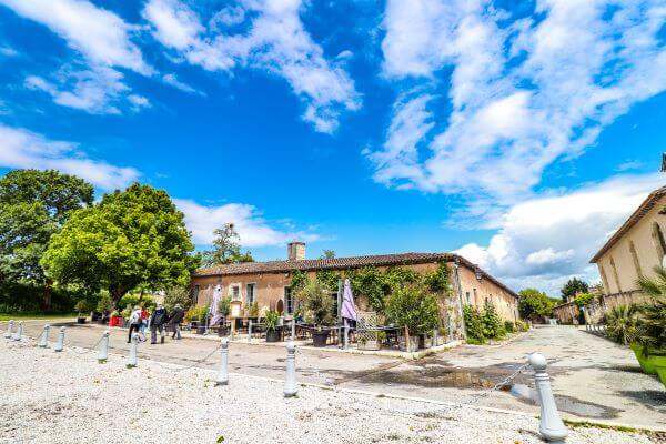 Tourist visit to the Citadel of Blaye in France