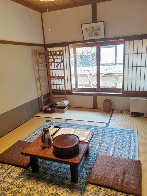 Our room at the Ekoin temple in Koyasan