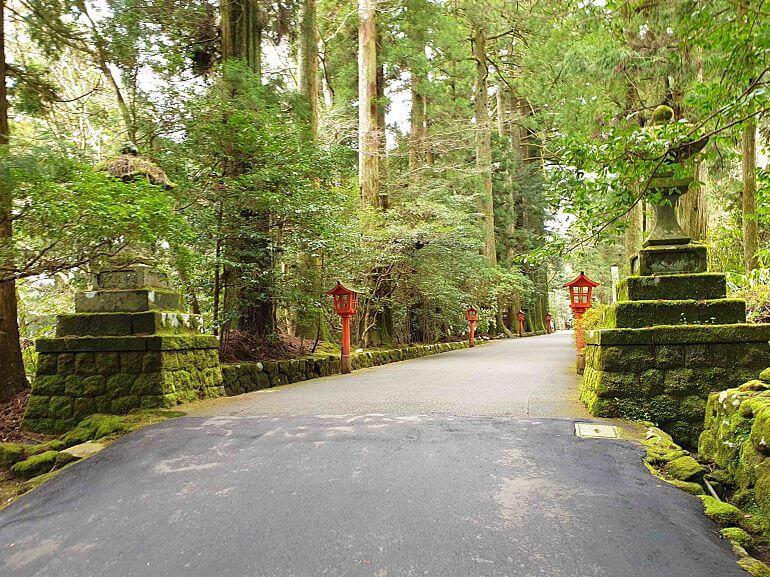 Hakone jinja shrine visit during our Loop itinerary