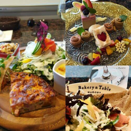 We review the amazing food and views at Bakery & Table restaurant in Hakone