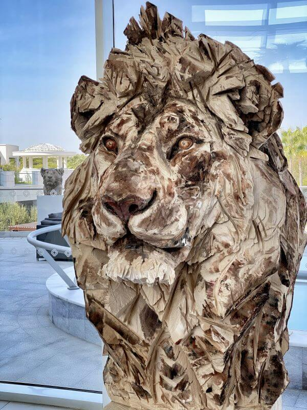 Beautiful art works at Conrad Algarve hotel