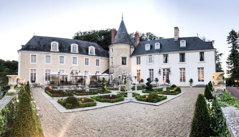 The Chateau de Beauvois hotel near Tours, Loire Valley France