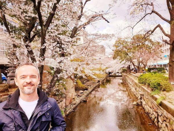 The Nishigawa Canal Park walk in Japan's Okayama