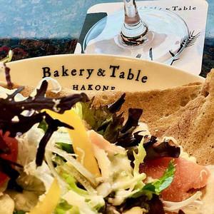 Savoury pancake at Bakery & Table restaurant on the Hakone Loop itinerary