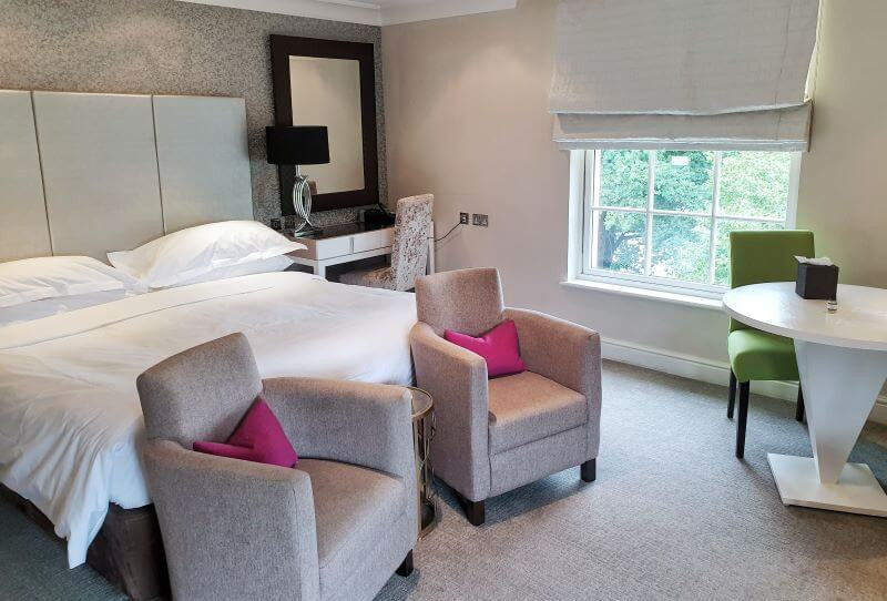 Bedroom review of the Alexander House Hotel in England's Sussex.