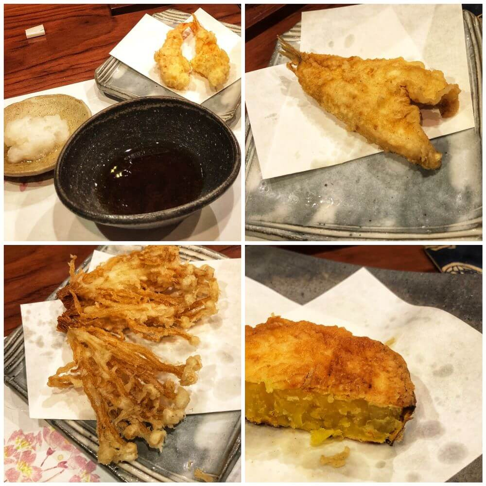 Review of the best tempura in Kyoto at Kitenya restaurant