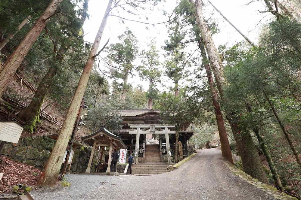Yuki-jinja shrine in Kurama