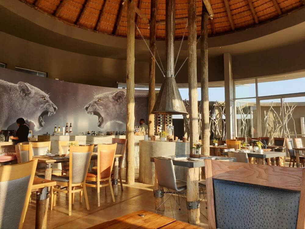 Review of Naankuse Lodge restaurant during our stay in Namibia