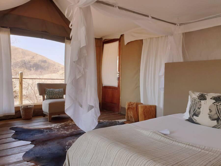 Erongo Wilderness Lodge bedroom review