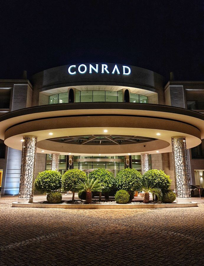 Valet service at Conrad Algarve Hotel, Portugal