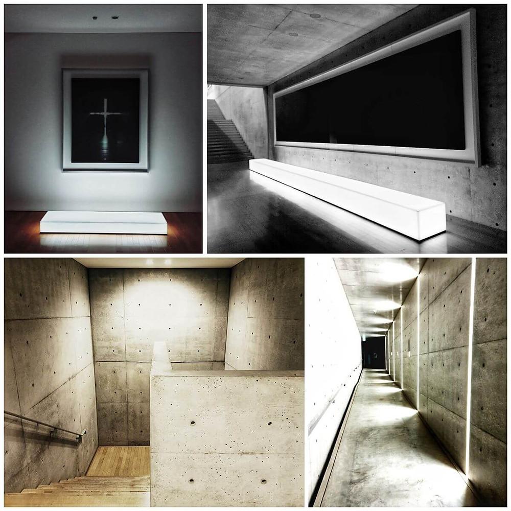 Art and Interior Design at Park, Benesse Hotel, Naoshima