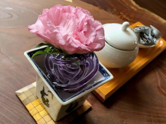 Beautiful dinner at Gora Hanaougi ryokan in Japan