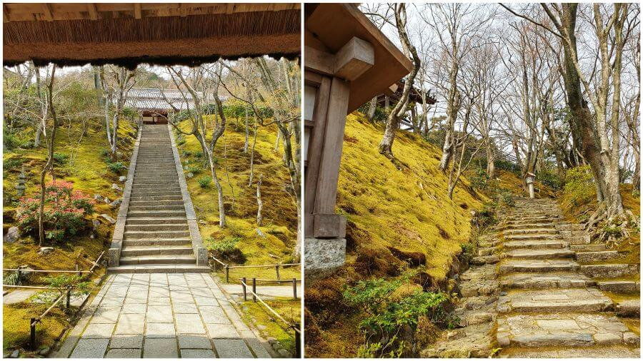 Visit to Jojakko-ji temple in Kyoto's Arashiyama district