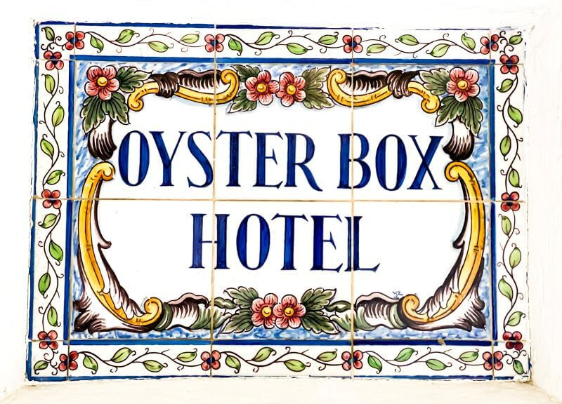 The Oyster Box Hotel in Umhlanga, Durban