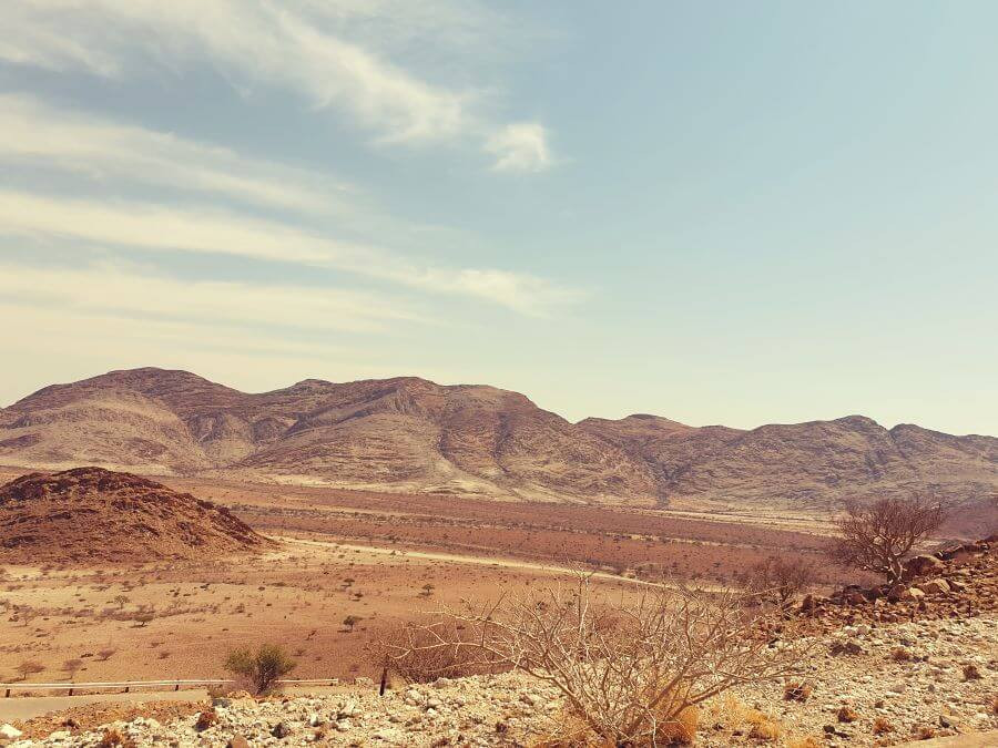 Spreetshoogte pass vistas - amazing Namibian landscape