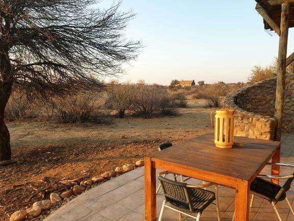 Reviw of accommodation at Naankuse Lodge near Windhoek in Namibia