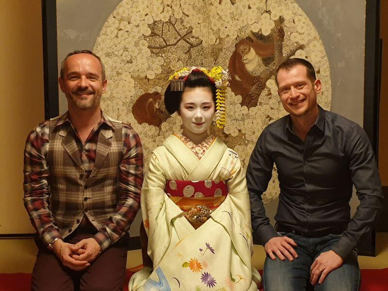 Dining with Maiko performance evening at Gion Hatanaka in Kyoto, a review