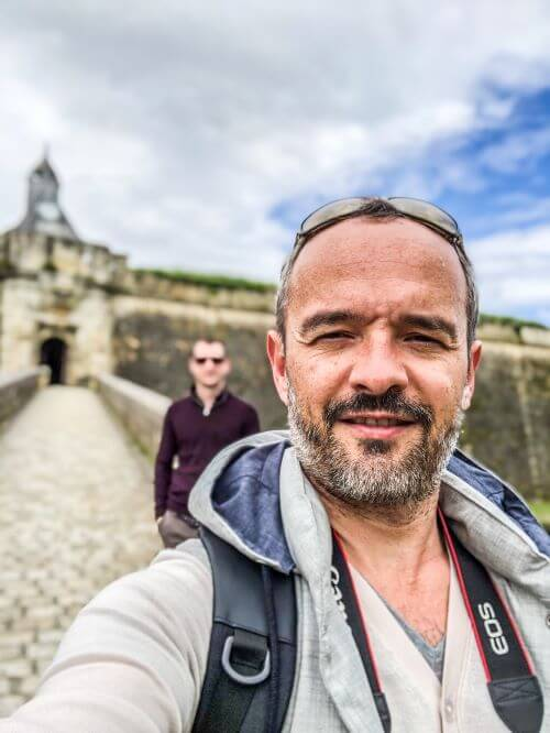 Visiting the Citadel of Blaye just north of Bordeaux