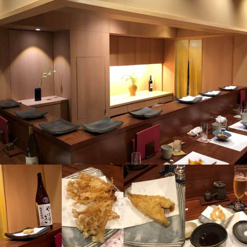 This is the best tempura in Kyoto, at amazing Kitenya restaurant