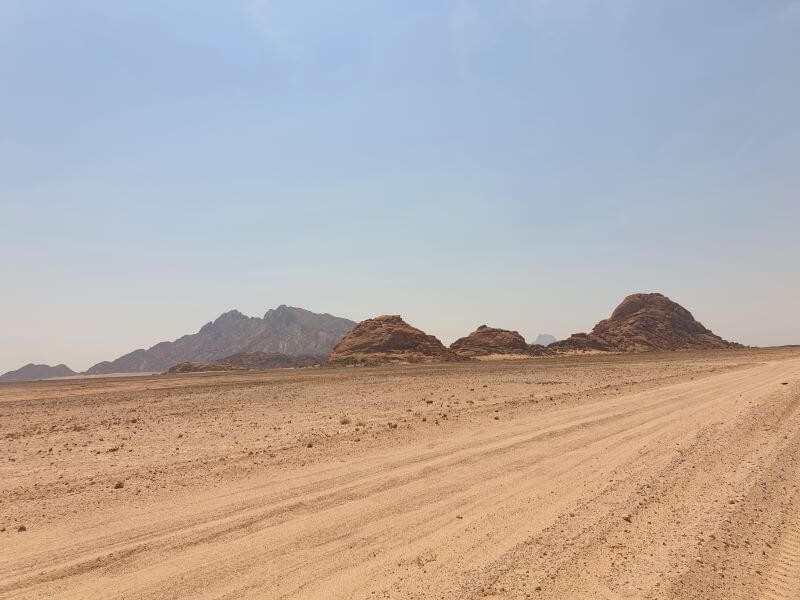Stark scenery along the Erongo roads in Namibia