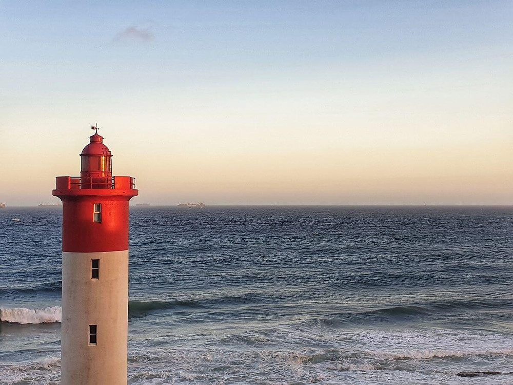 Sunset sea views from the Oyster Box Hotel - a review