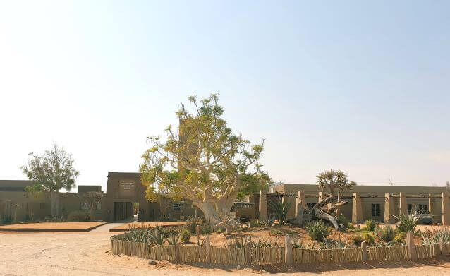 Sossusvlei Lodge accommodation in Sesriem, Namibia