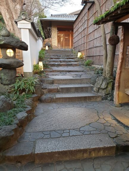 The Gion Hatanaka ryokan in Kyoto - we review our dinner with a geisha