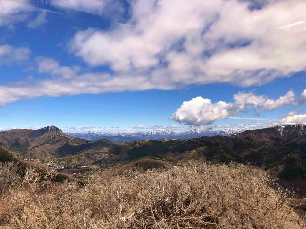 Views from the Hakone Tozan Ropeway - we review our counter clockwise itinerary