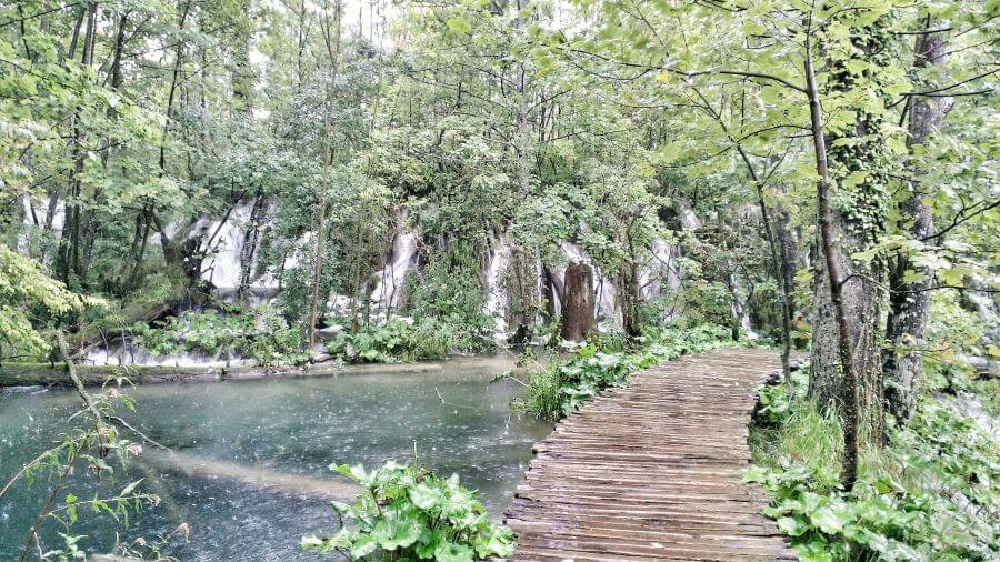 Lower Lakes at Plitvice National Park in Croatia