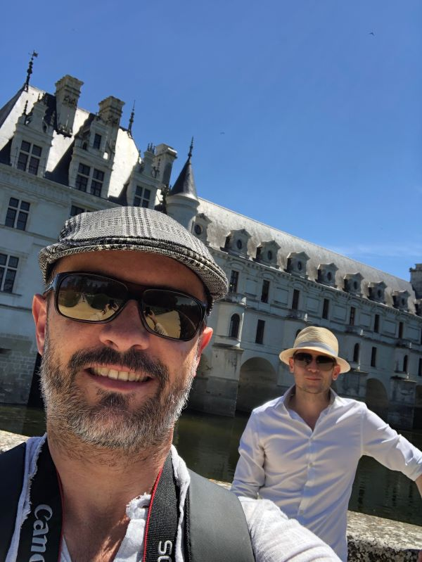 We visit the Chateau de Chenonceau in the Loire Valley
