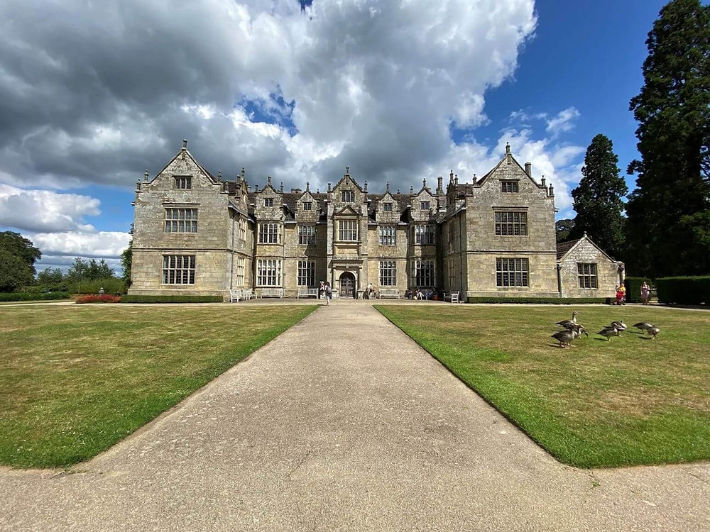 The stunning Wakehurst mansion, at Kew's National Trust botanic garden in West Sussex.