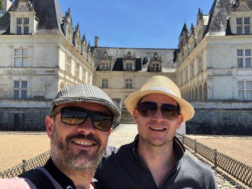 Visit to historic Chateau de Villandry in Loire Valley, France