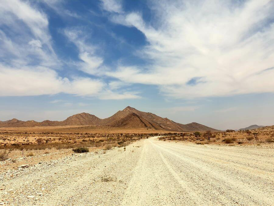 Gorgeous desert landscapes on a road trip around Namibia
