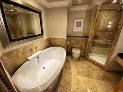 Ensuite bathroom at Alexander House Hotel & Utopia Spa in Sussex
