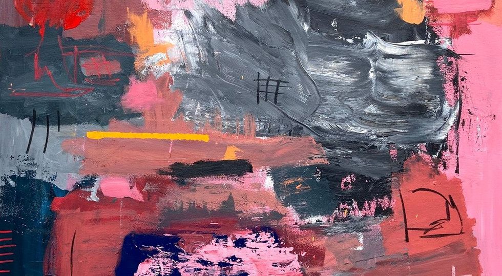 """""""The_Wait""""_-_Mixed_Media_on_canvas,_"""