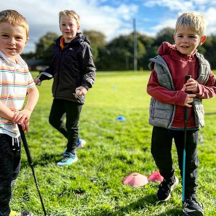 Junior Golf Guys Kids Pic