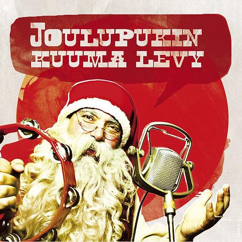 Joulupukin kuuma levy, CD