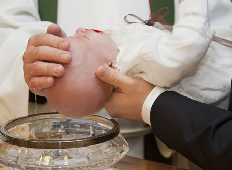 Baptême de Joséphine Rieul de Lestable et Côme de Lestable Valverde