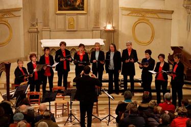 Concert du groupe vocal Voci di Donne
