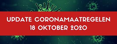 20201018 Update coronamaatregelen header